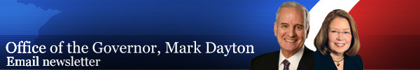 Office of the Governor, Mark Dayton Email Newsletter