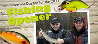 Join Governor Dayton for the 2012 Fishing Opener