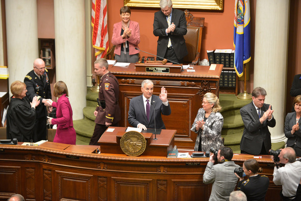 Governor Dayton delivers his 2014 State of the State Address