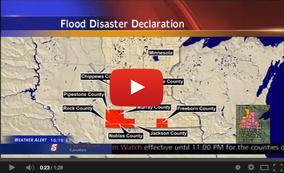Flood Disaster Declaration Video