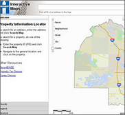 Interactive property maps