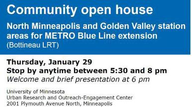 Bottineau open house Jan. 29 info