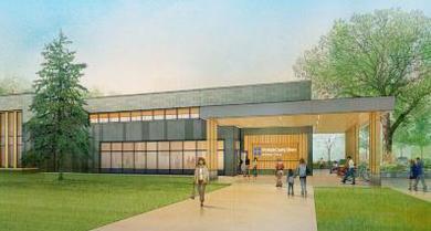 new Webber Park Library
