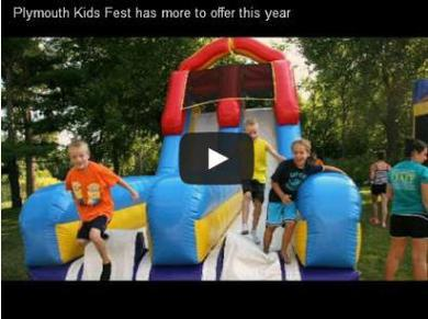 Plymouth kids fest with video link
