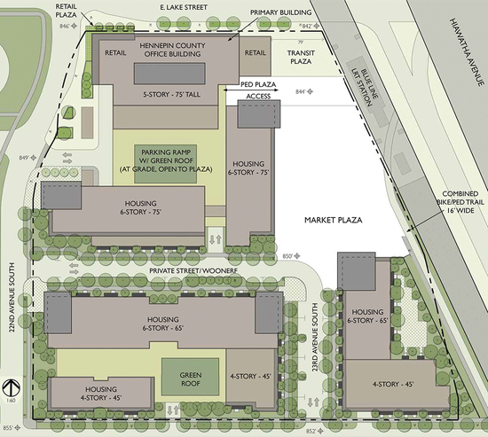 L&H Station site plan