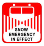 snow emergency notification