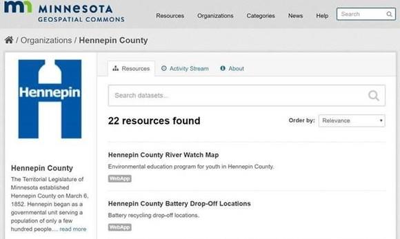Minnesota Geospatial Commons