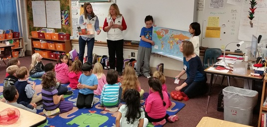 Farm Bureau members complete classroom activity