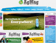 AgMag website home page