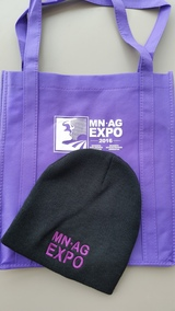 Minnesota Ag Expo Bag and Hat