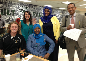 Attendees from the Faribault Summit Engaging Somali Families for Student Success