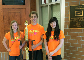 Wayzata High School's Championship Global Issues Problem Solving Team