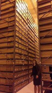Record storage at Minnesota Historical Society