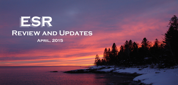 ESR Review and Updates April, 2015