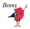 Benny the Benefits superhero character