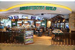 MN Wild restuarant storefront