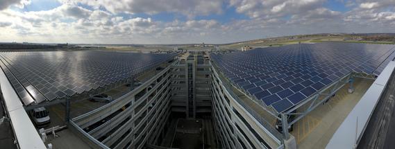 MSP solar arrays