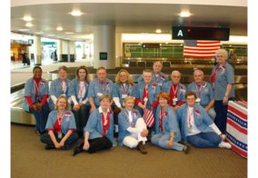 armed forces service center volunteers