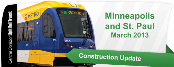Header: Minneapolis & St. Paul Construction Update