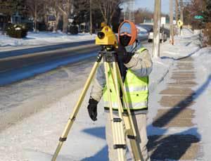 Photo of surveyor
