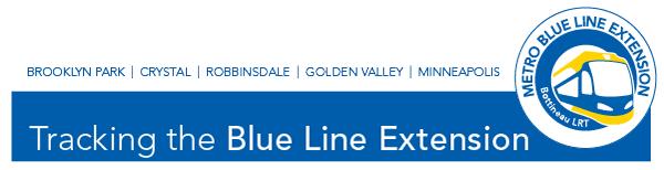 Blue Line Extension Newsletter header