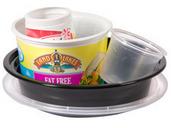 Plastic yugurt tubs