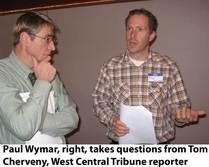 Paul Wymar-TMDL meeting