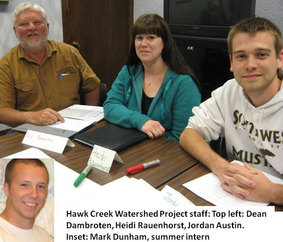 Hawk Creek staff