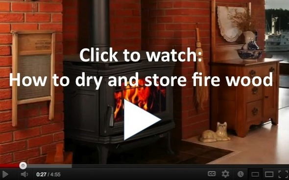 Video: How to dry fire wood