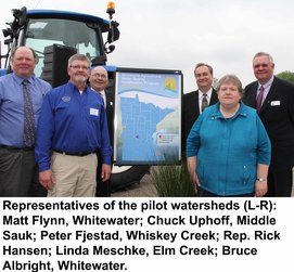AWQC pilot watersheds
