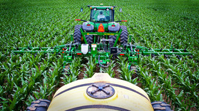 Cropland a major source of nitrates in waters
