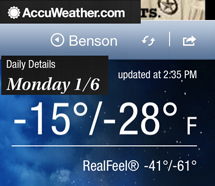 benson temp