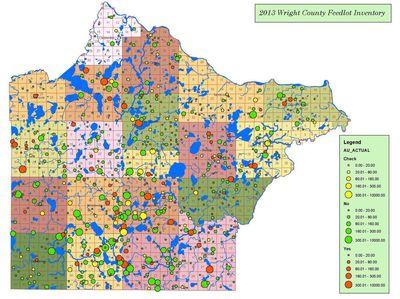 wright county feedlot inventory