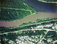 Sediment clouds Minnesota and Mississippi rivers