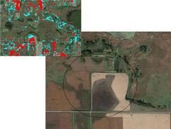 Sibley County areas for wetland restoration