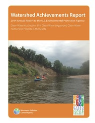 2014 watershed achievement report cover