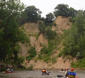 lesueur river banks