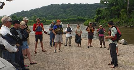 lesueur river paddlers
