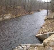 Pine River in central Minnesota