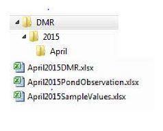 eDMR folders