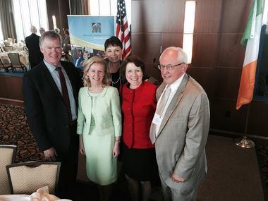 Mary Jo with Irish Ambassador