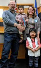 National Adoption Day - Neubauer family