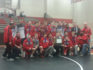wrestling section champs