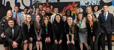 speech and debate team 2017-18