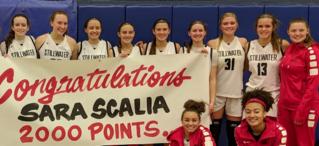 sara scalia scores 2,000 points