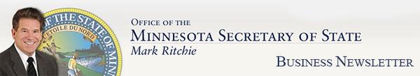 Minnesota Secretary of State banner image