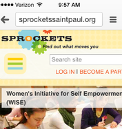 Sprockets Mobile-Friendly Website