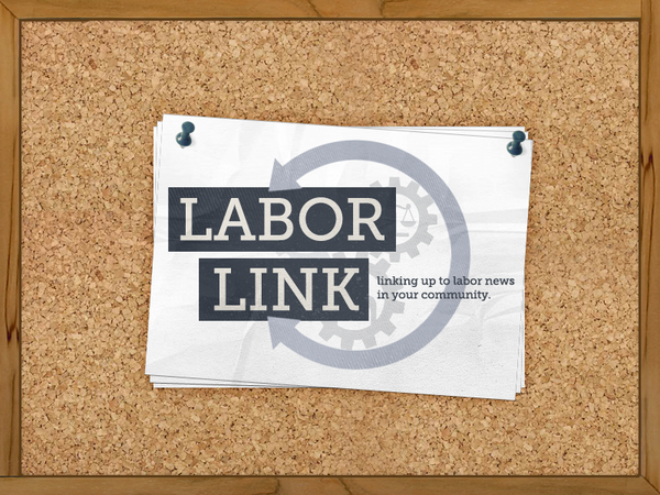 Labor Link Cork Board