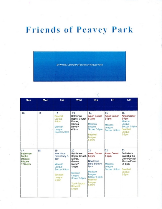 Friends of Peavey Park