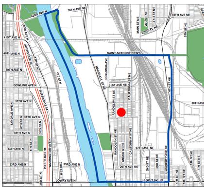 Precinct 1-1 Map